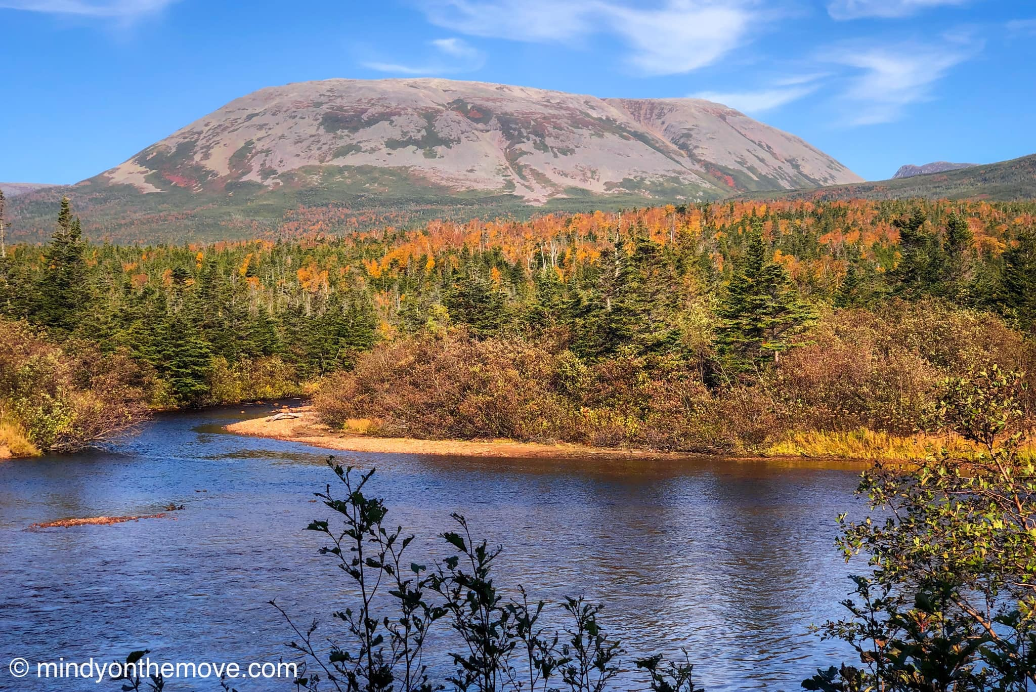 Gros Morne Mountain in the Fall