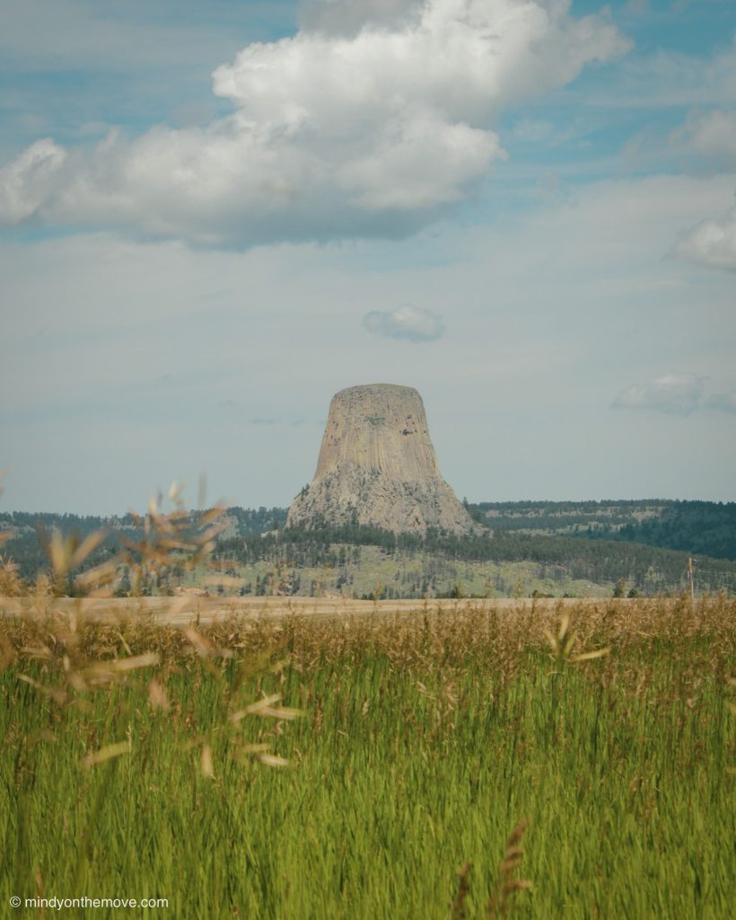 must see Devil's tower photo in Wyoming