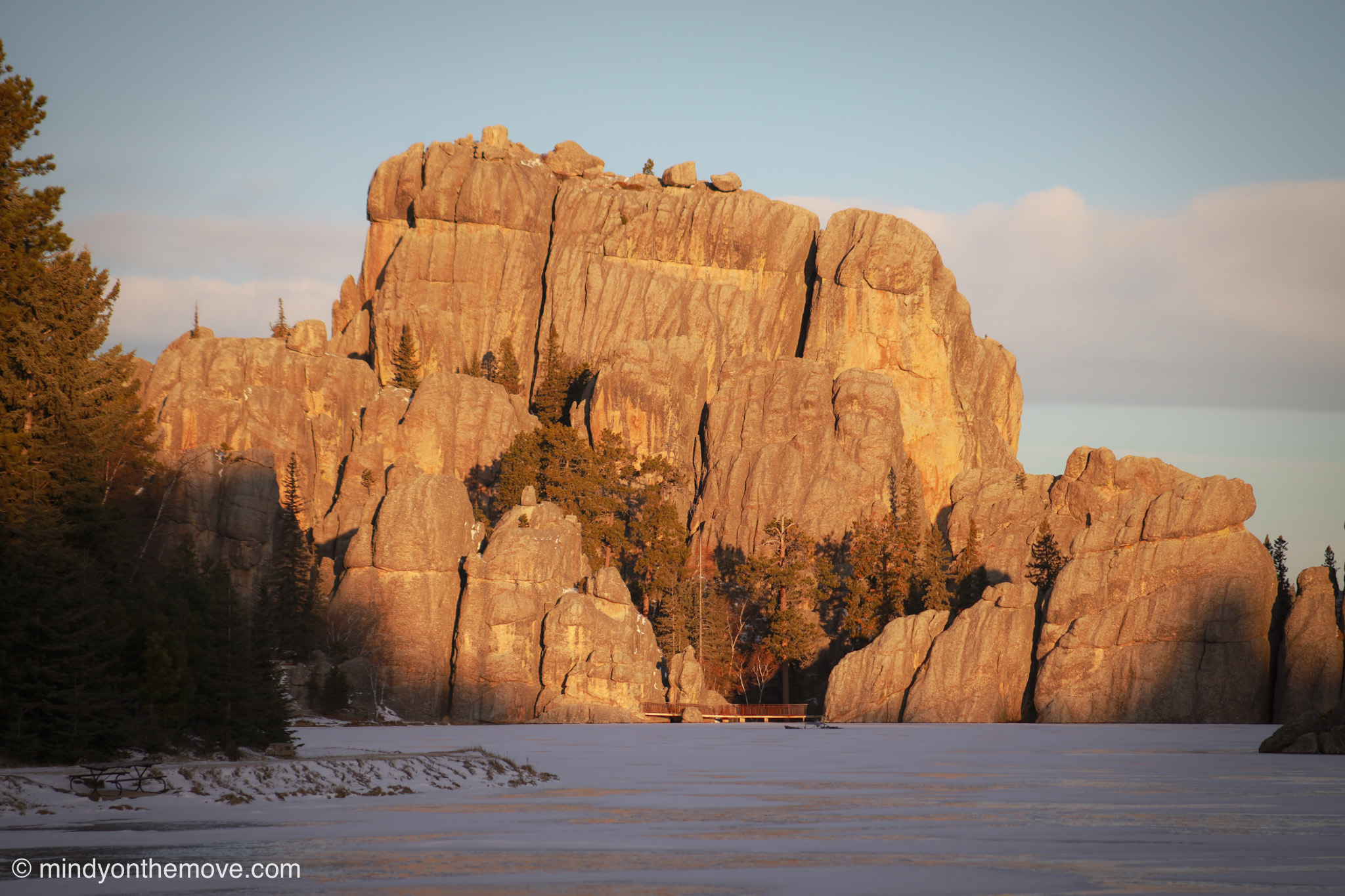black hills in the winter time photo magic