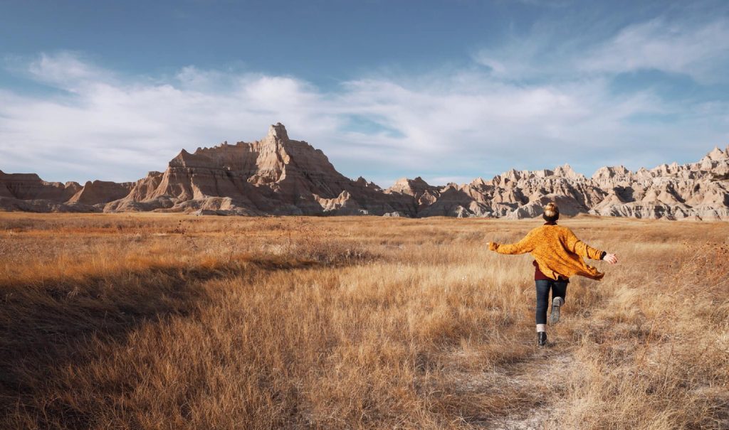 Best viewpoints for taking photos in badlands national park