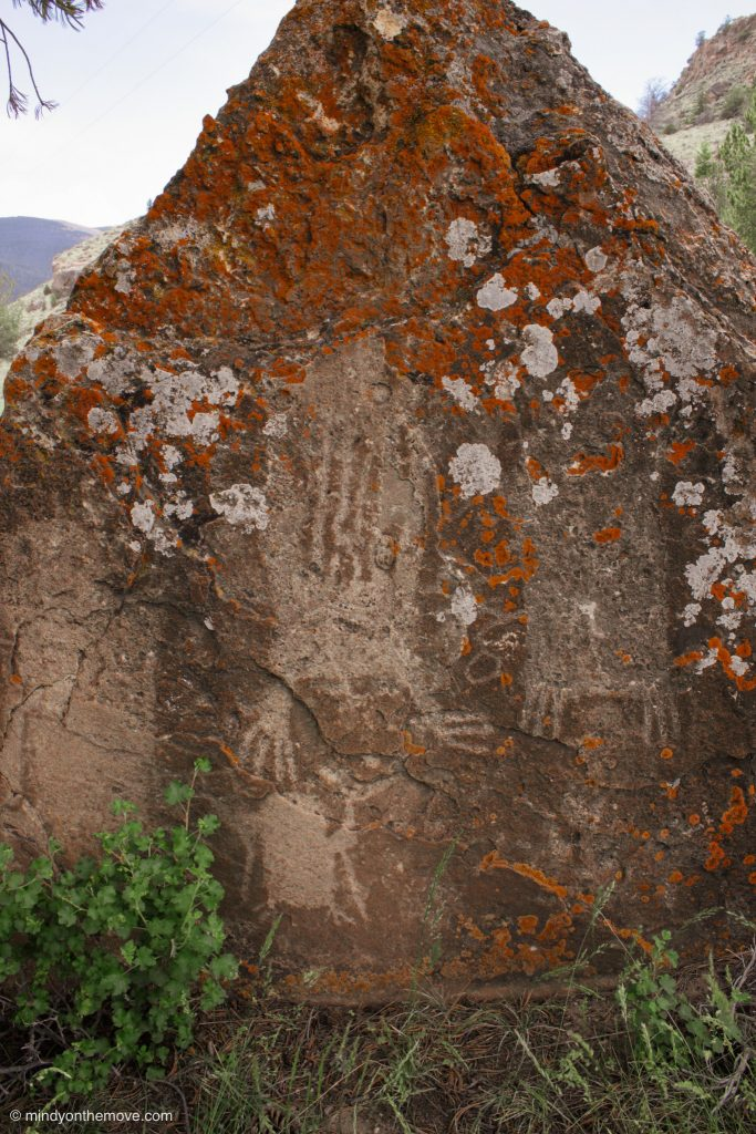where can petroglyphs be found