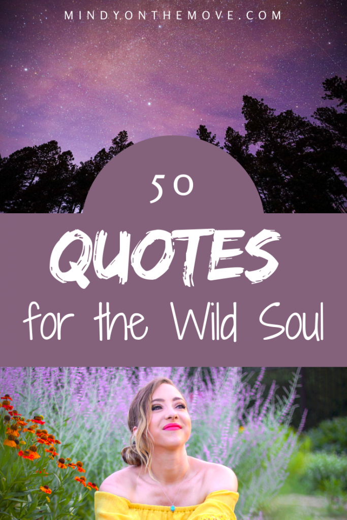 quotes for the wild soul